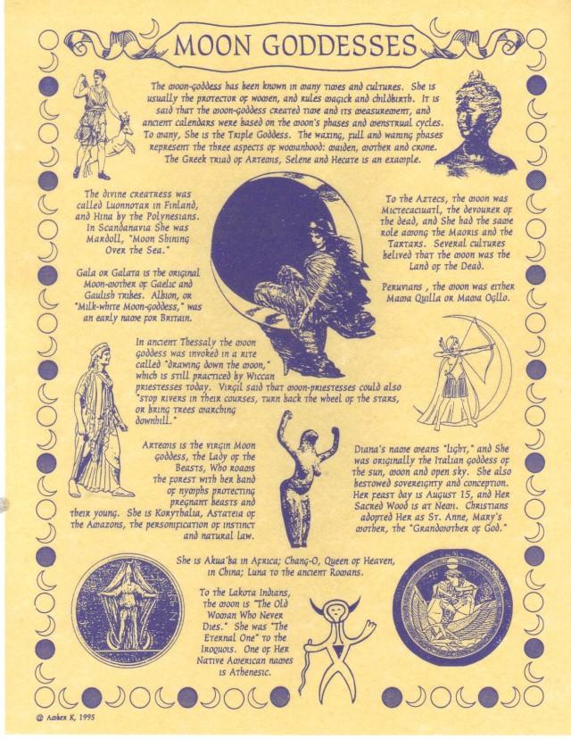 Moon Goddesses