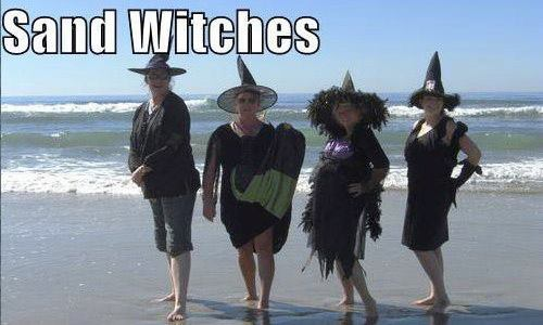 Sand Witches...hehe